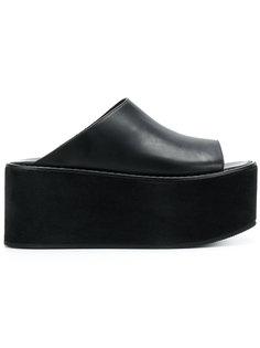 сандалии на платформе Ann Demeulemeester