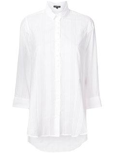 удлиненная рубашка в полоску Ann Demeulemeester