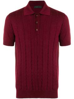 вязаная рубашка-поло Prada