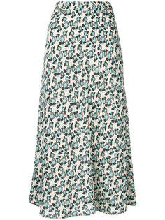А-образная юбка с цветочным принтом  Marni