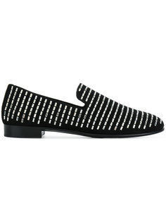 Swarovski studded loafers Giuseppe Zanotti Design