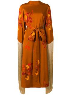 платье-кимоно с бахромой  Ellery