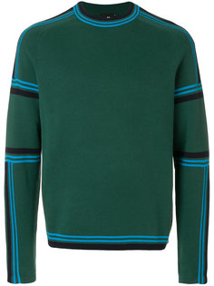 свитер с полосками Ps By Paul Smith