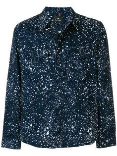 куртка-рубашка с принтом Paint Splatter Ps By Paul Smith