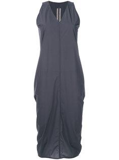 платье-футляр с V-образным вырезом  Rick Owens