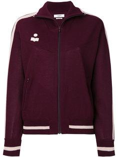 zipped logo bomber jacket Isabel Marant Étoile