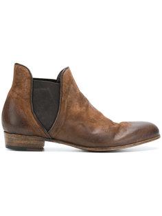ботинки с потертой отделкой Lidfort
