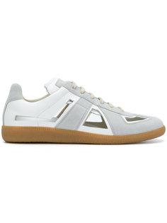 кроссовки с вырезными деталями Maison Margiela