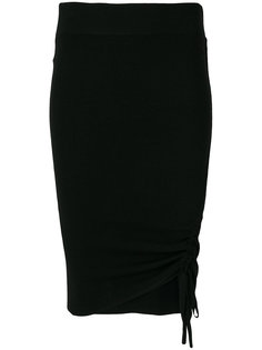 облегающая юбка с затяжками T By Alexander Wang