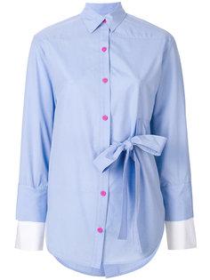 рубашка с поясом  Eudon Choi