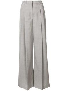 строгие широкие брюки с завышенной талией  Jil Sander Navy