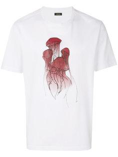 футболка с графическим принтом Jellyfish Z Zegna