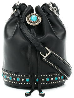 декорированная сумка-мешок  Prada