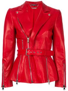 байкерская куртка на молнии Alexander McQueen