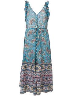 платье с V-образным вырезом Alexandra Anjuna