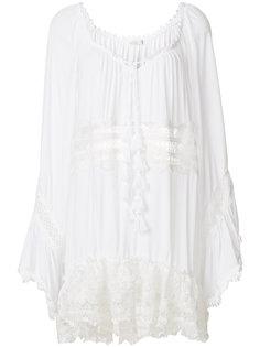 пляжное платье с перфорацией  Anjuna