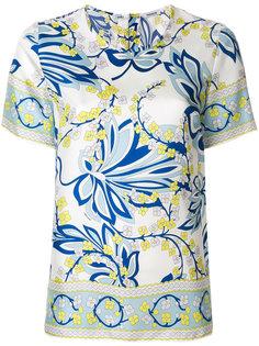 футболка с цветочным принтом  P.A.R.O.S.H.