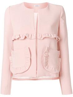 приталенный пиджак с рюшами  P.A.R.O.S.H.