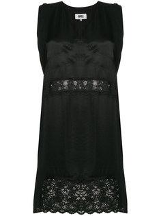 платье с V-образным вырезом  Mm6 Maison Margiela