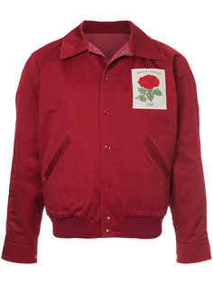 rose patch bomber jacket  Kent & Curwen