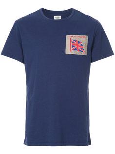 футболка с нашивкой Kent & Curwen
