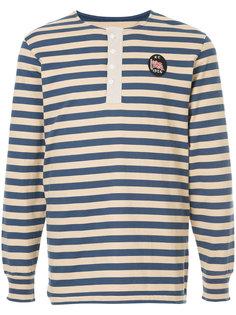 футболка в полоску с длинными рукавами Kent & Curwen