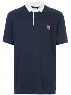 рубашка-поло с контрастной отделкой Kent & Curwen