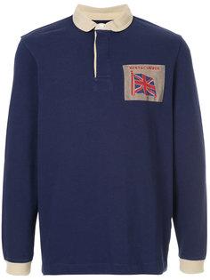 рубашка-поло с длинными рукавами Kent & Curwen