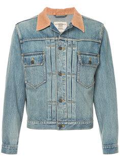 джинсовая куртка с контрастным воротником Kent & Curwen