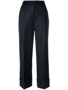 широкие брюки в полоску колор-блок  Thom Browne