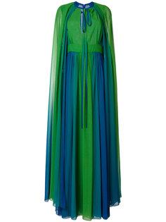 длинное платье-накидка Elie Saab