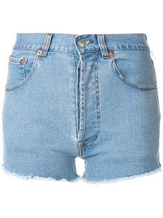 джинсовые шорты Kalifornia Zip Forte Couture