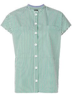 рубашка с короткими рукавами с полосатым узором Joseph