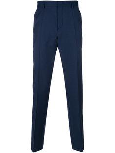 прямые брюки строгого кроя Boss Hugo Boss