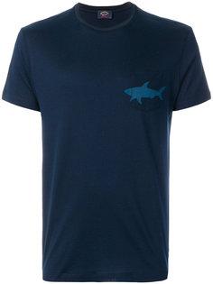 футболка с принтом логотипа Paul & Shark