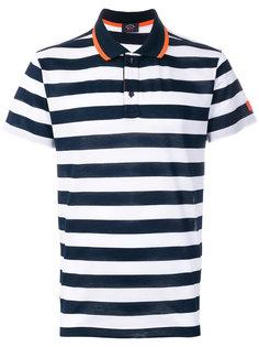 футболка-поло в полоску Paul & Shark