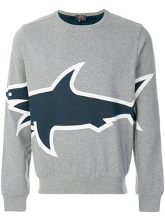 толстовка с принтом логотипа Paul & Shark