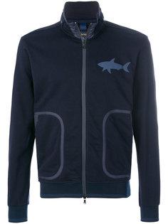 куртка-бомбер с логотипом Paul & Shark