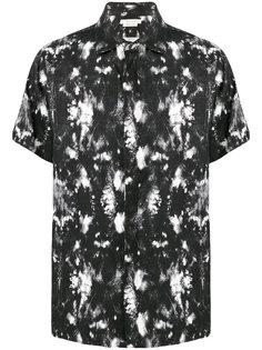 рубашка с принтом и короткими рукавами Alyx