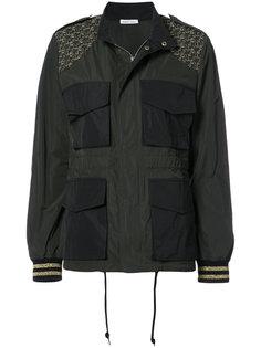 куртка с вышитыми пальмами и карманами спереди Tomas Maier