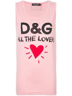 футболка All the Lovers Dolce & Gabbana