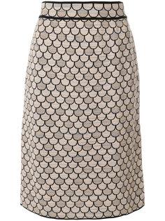 юбка с принтом rosa chiaro M Missoni
