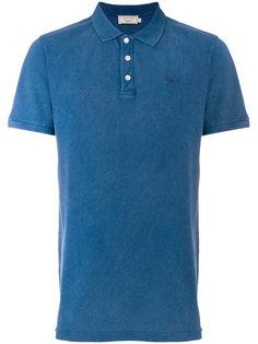 рубашка-поло с вышивкой логотипа Maison Kitsuné