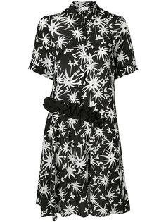 платье с принтом  Lanvin