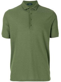 рубашка-поло с короткими рукавами Zanone