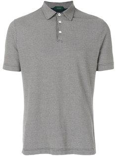 рубашка-поло с принтом Cesto Zanone