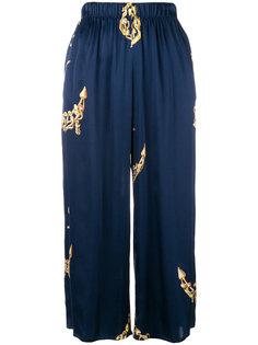 пижамные брюки с принтом  Natasha Zinko