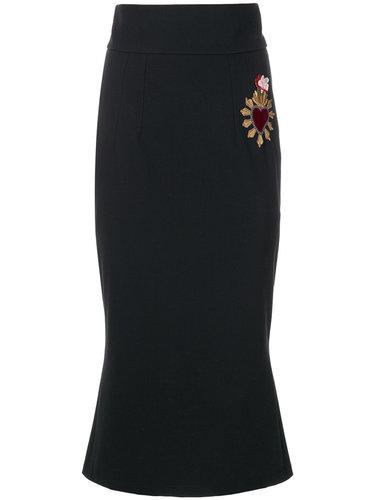 юбка-карандаш 'Sacred Heart' Dolce & Gabbana