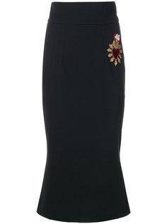 юбка-карандаш Sacred Heart Dolce & Gabbana