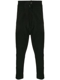брюки с заниженным шаговым швом 10Sei0otto